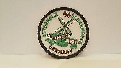 Travel Souvenir Osterholz Scharmbeck Germany Color Patch 3 x 3