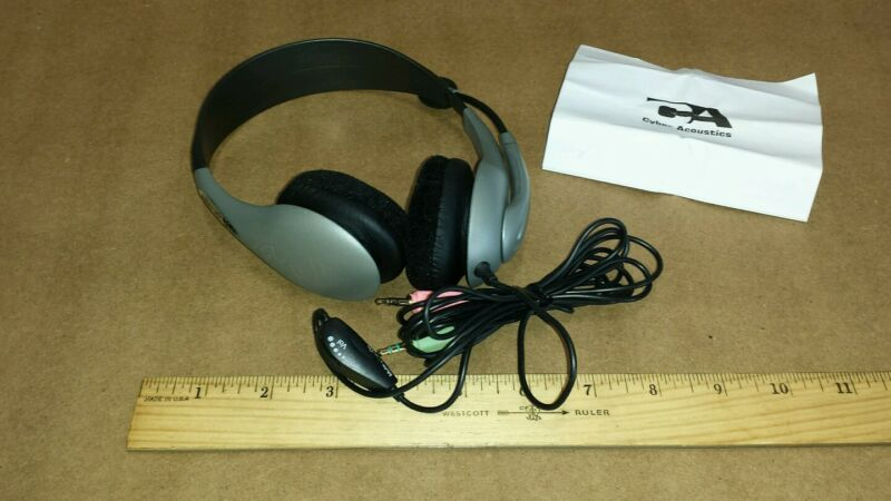 Cyber Acoustics Headset black AC-401