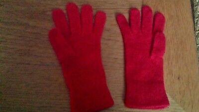 chen-Handschuhe, Rot, NEU Top ☺☺ (Mädchen Rot Handschuhe)