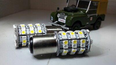 380 12v 215W BAY15D Vintage Combined Indicator Sidelight AmberWarm White Bulbs