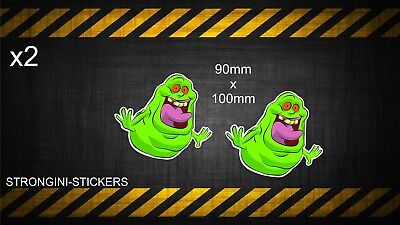 Ghostbusters Ghost buster Slimer Sticker Decal Graphic Vinyl Label 90mm x 100mm