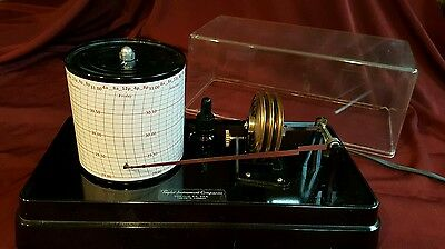 Taylor WEEKLY Barograph Charts Easy To Read Red or Black