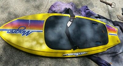 """Hydroslide Kneeboard magna Yellow Approximately 56"""" Long x 21 1/2"""" GS"""