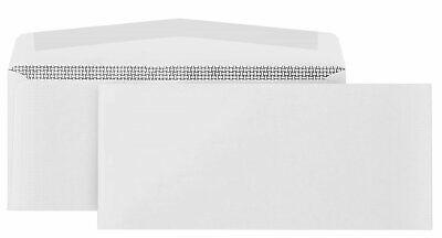 500 Business Envelopes Windowless Security Standard Letter Size