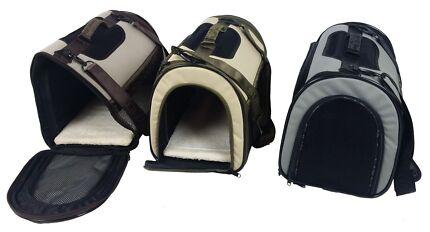 Portable Soft Dog Cat Pets Canvas Carrier Bag