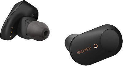 Sony WF-1000XM3 True Wireless Noise Cancelling In-Ear Headphones - Black