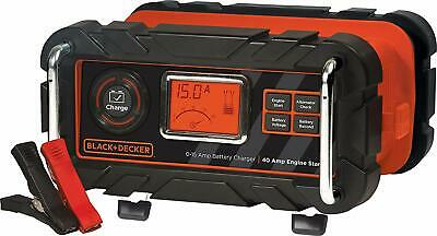 Best Automatic 15A Battery Charger with 40A Engine Start Stanley Automotive