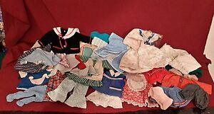 Konvolut alte Puppenkleidung  verschiedene  Teile