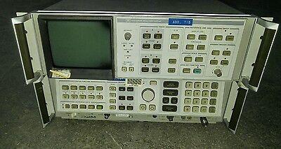 Hp Agilent 85662a 8568a Spectrum Analyzer Display Analyzer W Cables