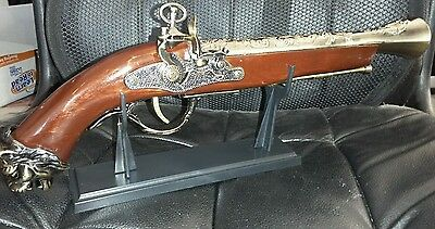 Naval Pirate Toy Gun Flintlock Blunderbuss Replica Pistol Cosplay COSTUME A