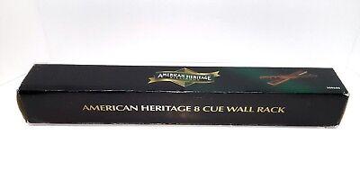 8 Pool Cue Wall Rack | Billiard Accessories - American Heritage