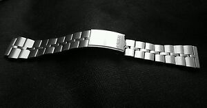 SEIKO FISHBONE 6138 0040 BULLHEAD WATCH BRACELET HELMET ADJUSTABLE STRAP BAND