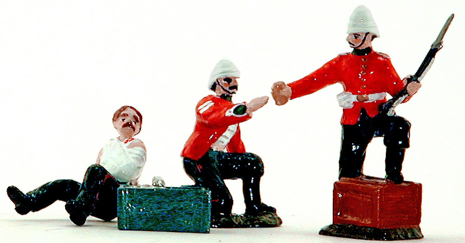 """Dorset Toy Soldiers - """"Private Hitch and Corporal Allen"""" - g"""