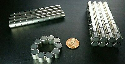 10 Large Neodymium N52 Disc Magnets Super Strong Rare Earth Cylinder 38 38