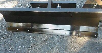 New 484 Mini Skid Steer Hydraulic Snow Plow 463s70mt50mt52mt55mt85 Bobcat