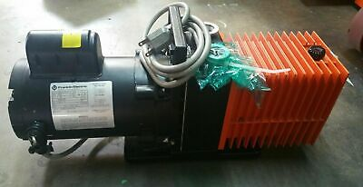 Cit Alcatel 2008a Vacuum Pump Wfranklin Electric 12 Hp Motor