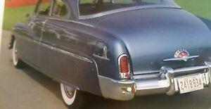 1951 Mercury Fender Skirts New Steel