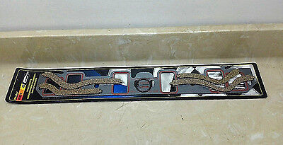 "Mr Gasket 5834 Ultra Seal Intake Gaskets Ford 351W 1975-83 1.25"" x 2.11"""