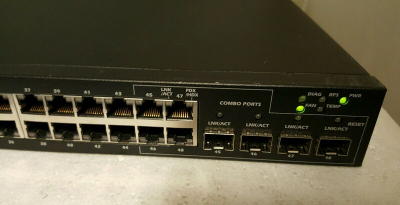 Dell Powerconnect 5448 48-port Ethernet Managed Gigabit Switch