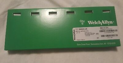 New Welch Allyn Genuine 06500-u Replacement Bulbs Pack Of 6