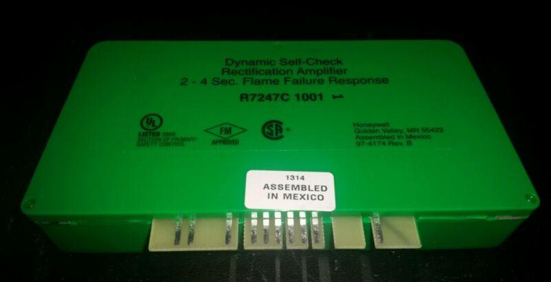 HONEYWELL R7247C 1001 DYNAMIC SELF CHECK RECTIFICATION AMPLIFIER