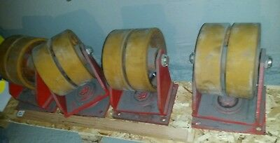 10 Dual Swivel Caster Wheels Heavy Duty Qty4