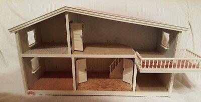 Original Lundby Lisa Puppenhaus / Puppenstube 70er Jahre mit Balkon