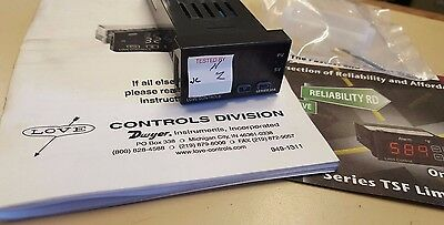 Love Controls 32a053-9502 Series 32a Tempprocess Controller
