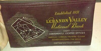 Vtg Lebanon Valley National Bank Annville Palmyra Pine Grove Pa Deposit Bag