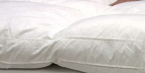 QVC Northern Nights 100% Feather Baffle Box 8cm Featherbed Single RRP £90