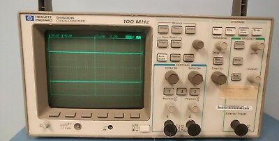 Hp Agilent 54600b 2-channel 100 Mhz Oscilloscope W 54658a Module