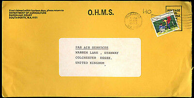 Australia 1990 Commercial Air Mail Cover To UK #C37532