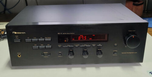 Nakamichi RE-10 AM/FM Stereo Receiver
