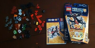 LEGO NEXO KNIGHTS Bundle Ultimate Lavaria 70335 + King's Guard 5004390 COMPLETE