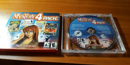 Mystery 4 Pack  (PC, 2009, Alawar Games)