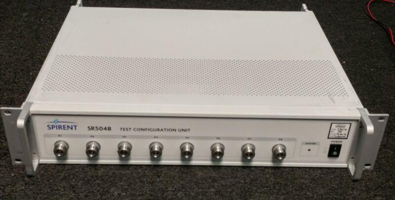 Spirent SR5048 Test Configuration Unit TAS5048