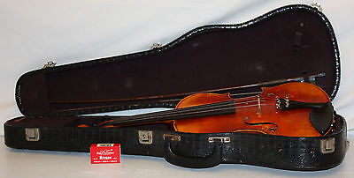 WM Lewis & Son the Dancla No 126 Violin W/ Bow & Case Fast Free Shipping to US48 on Rummage