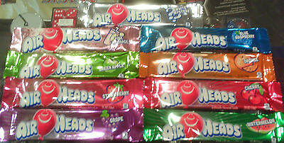 Air Heads Chewy Fruit Candy Assorted Flavors  You Choose The Amount