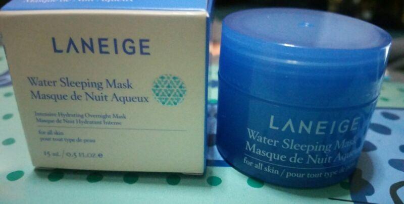 Laneige Water Sleeping Mask Intensive Overnight mask travel size 0.5oz