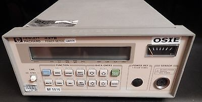 Hpagilent 437b 100khz-110ghz Power Meter Opt. 003
