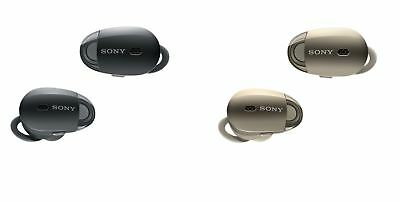 Sony WF-1000X Bluetooth Wireless Noise-Canceling In-Ear Earphones w Mic and NFC