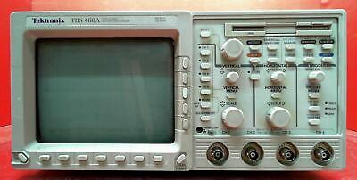 Tektronix Tds460a-05-1m-2f B060363 Tds460a Oscilloscope 400 Mhz 4 Channel