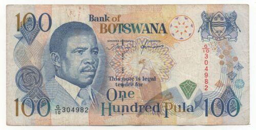BOTSWANA 100 PULA 1993 PICK 16 LOOK SCANS