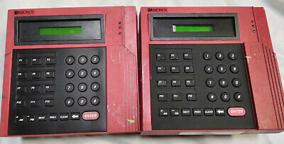 Kronos 400 Series 480f Ethernet Time Clock Lot Of 2 For Parts Only