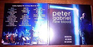 """Peter Gabriel - """"New Blood"""" London 2010 - Italia - Peter Gabriel - """"New Blood"""" London 2010 - Italia"""