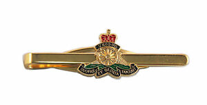 RA-ROYAL-ARTILLERY-ENAMEL-TIE-SLIDE-BRAND-NEW-BOXED-IDEAL-PRESENT