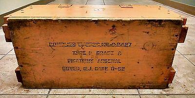 vintage military bomb detonation fuse box great display 1952 vintage military bomb detonation fuse box great display 1952