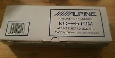 NEW Alpine KCE-510M Amplifier Link Module RARE Vintage NOS Old School