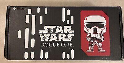 Unopened Funko Star Wars Smuggler's Bounty Box ROGUE ONE (November 2016) L Shirt