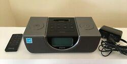 iHome iP42 Speaker Dock Apple iPod iPhone 30 Pin Alarm Clock Radio & Remote